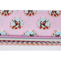 Fabric bundles No 143 AEO 20x140 cm