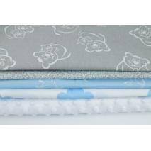 Fabric bundles No. 232 KO 30x150cm