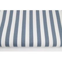 Cotton 100% graphite 15mm stripes
