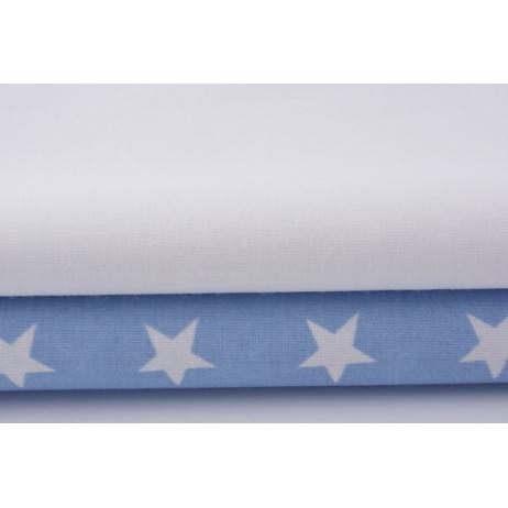 Bawełna 100% biała 155g/m2
