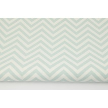 Home Decor, medium zig-zag powder mint 220g/m2