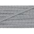 Cotton lace 12mm dark gray