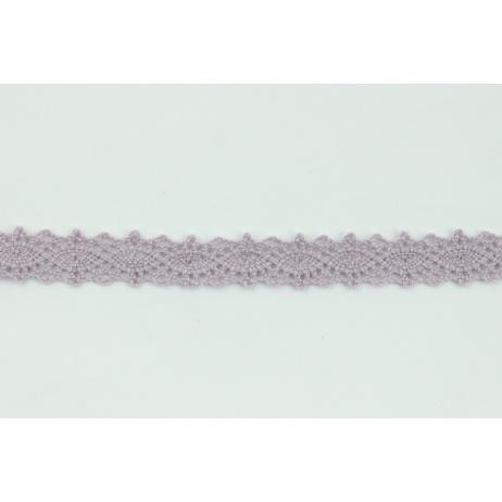 Koronka bawełniana brudny fiolet 12mm