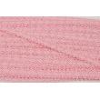 Koronka bawełniana różowa 12mm