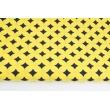Bawełna 100% marokański wzór na żółtym tle