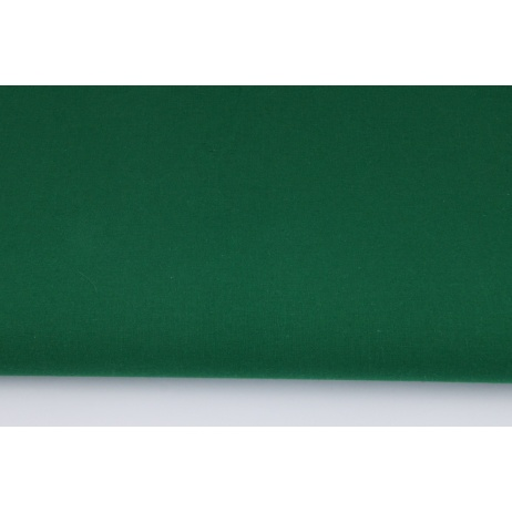 Cotton 100% plain bottle green