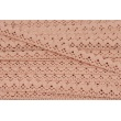 Cotton lace 15mm in a powder pink color