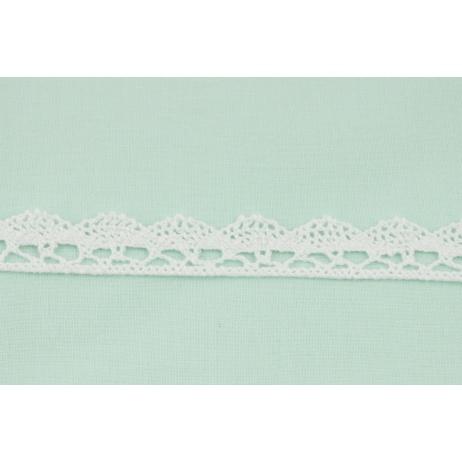 Koronka bawełniana 15mm, biała (fala)