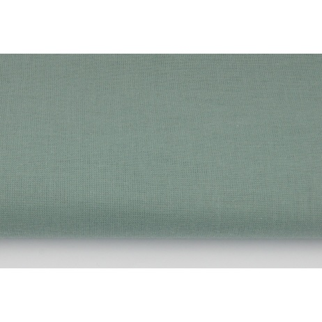 Cotton 100% plain sage color