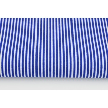 Cotton 100% cornflower stripes 2x1mm
