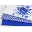 Cotton 100% cornflower stripes 2x1mm