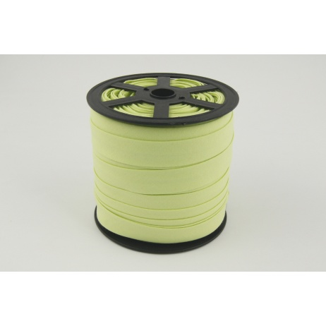 Cotton bias binding pistachio