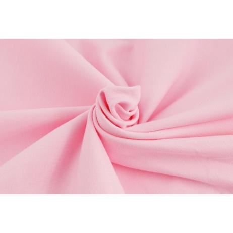 Dzianina, dresówka pętelkowa różowa jednobarwna
