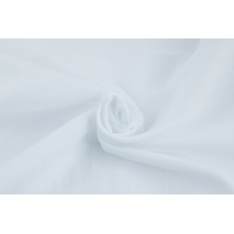 Muślin bawełniany, biały, 150cm, Oeko Tex St. 100 II klasa, Produkt polski