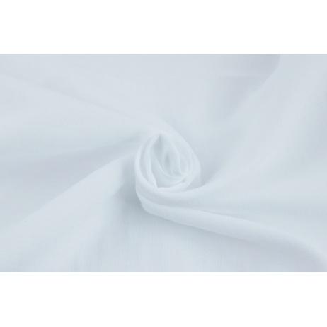 Double gauze 100% cotton plain white