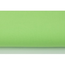 Cotton 100% plain light green