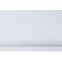 Bawełna 100%, białe drzewka na białym tle (batyst)