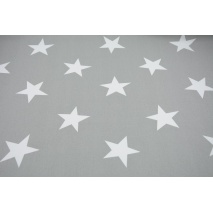 HOME DECOR big stars on a gray background 140 cm