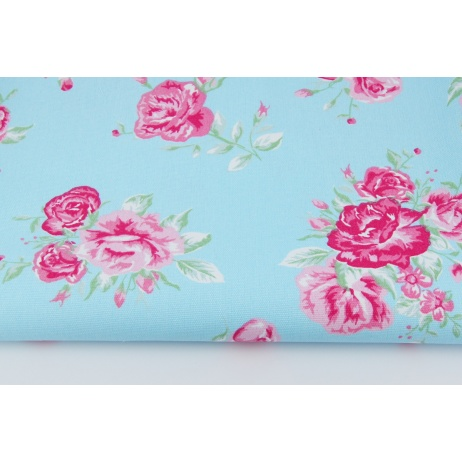 Home decor pink flowers on a blue background home decor pink flowers on blue background mightylinksfo