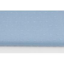 Bawełna 100%, plumeti niebieska