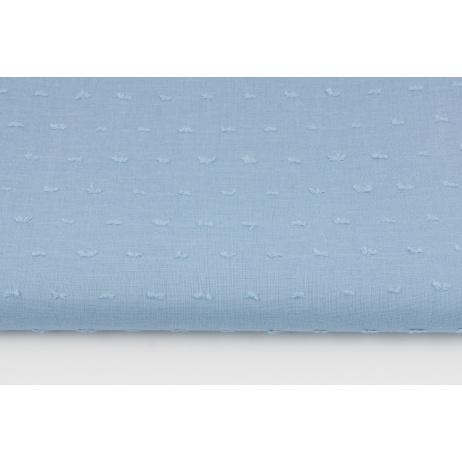 Cotton 100%, plumeti blue