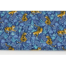 Jersey w tygrysy na ciemnoniebieskim tle
