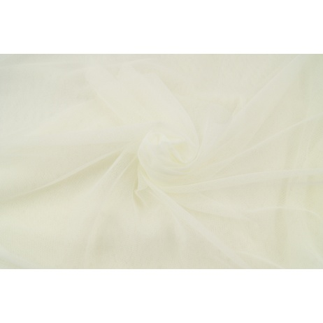 Soft tulle, cream