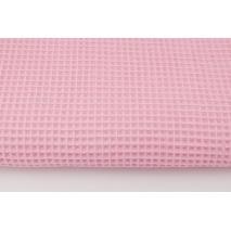 Cotton 100%, waffle fabric, plain pink