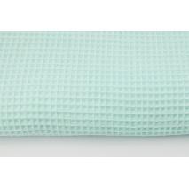 Cotton 100%, waffle fabric, plain mint
