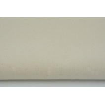 HOME DECOR plain natural, creme 100% cotton II quality
