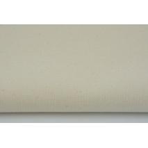 HOME DECOR plain natural, creme 100% cotton II quality