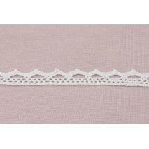 Cotton lace 11mm white