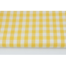 Cotton 100% double-sided yellow vichy check 1cm No. 2