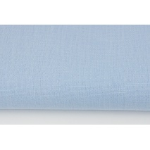 100% plain linen in a blue color 180 g/m2