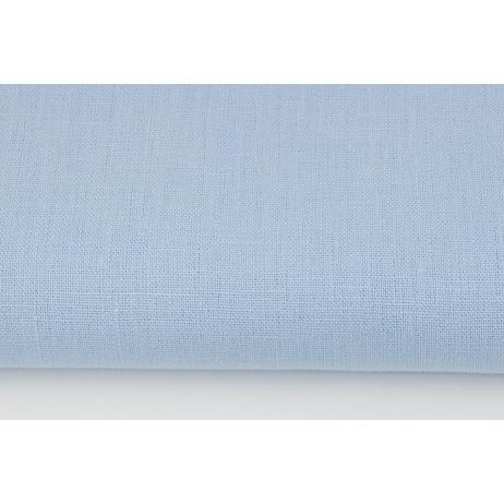 100% plain linen in a blue color