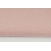Cotton 100% plain smoky pink