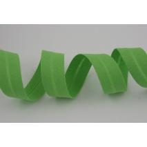 Cotton bias binding green 18mm