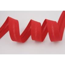 Cotton bias binding red 18mm