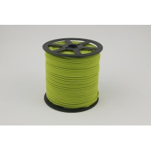 Cotton edging ribbon olive