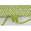 Cotton edging ribbon olive