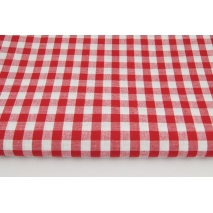 Cotton 100% double-sided red vichy check 1cm No 1