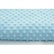 Polar z wytłaczanymi bąbelkami minky błękit 380 g/m2