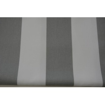 HOME DECOR light gray stripes 8cm II quality