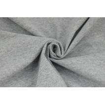 Dzianina, jersey jasny szary (melanż)