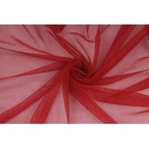Soft tulle, red