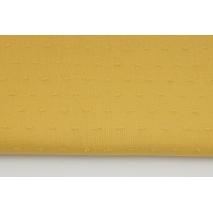 Cotton 100%, plumeti plain mustard