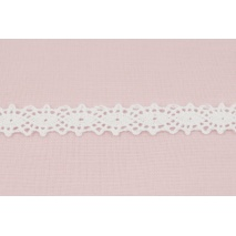 Cotton lace 12mm white