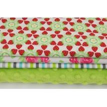 Fabric bundles No 382 KO 20x140 cm