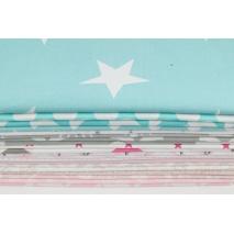 Fabric bundles No. 64D 70x140cm