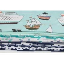 Fabric bundles No. 288 OA 30x130cm